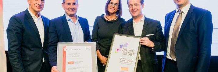 BILLA erhält ZukunftVIELFALT Auszeichnung