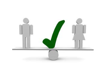 Warum Väterbeteiligung die Chancen der Frauen erhöht und Frauenquoten alleine nichts bringen