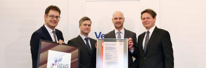 ZukunftVIELFALT Auszeichnung für die VERBUND AG