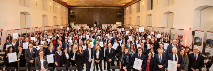 Audit berufundfamilie: 112 familienfreundliche Arbeitgeber ausgezeichnet
